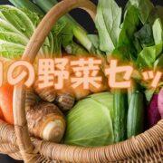 野菜ソムリエが選ぶ旬の野菜セット!!いかがですか